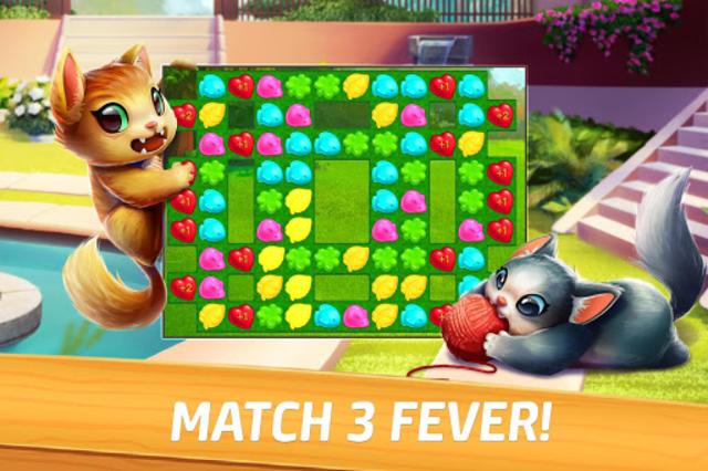 Meow Match: Cats Matching 3 Puzzle & Ball Blast screenshot 4