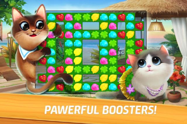 Meow Match: Cats Matching 3 Puzzle & Ball Blast screenshot 5