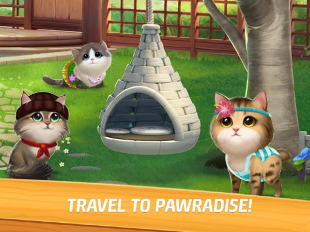 Meow Match: Cats Matching 3 Puzzle & Ball Blast screenshot 6