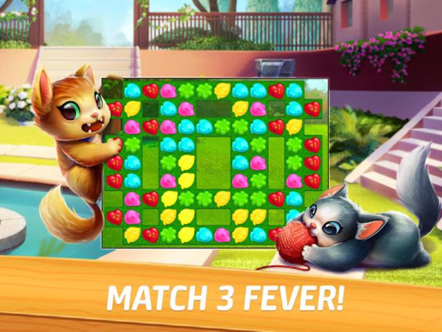 Meow Match: Cats Matching 3 Puzzle & Ball Blast screenshot 9