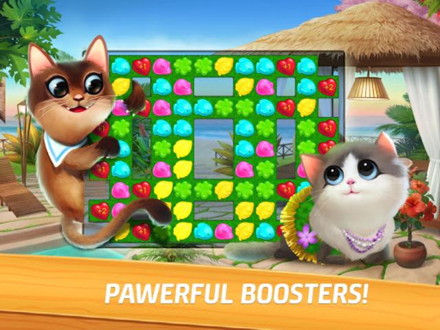 Meow Match: Cats Matching 3 Puzzle & Ball Blast screenshot 10