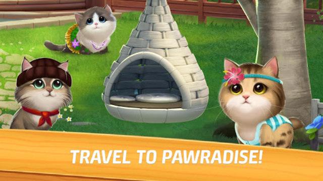 Meow Match: Cats Matching 3 Puzzle & Ball Blast screenshot 11