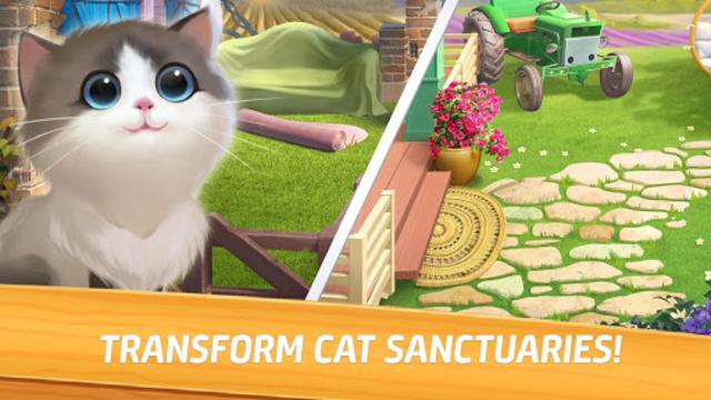 Meow Match: Cats Matching 3 Puzzle & Ball Blast screenshot 12