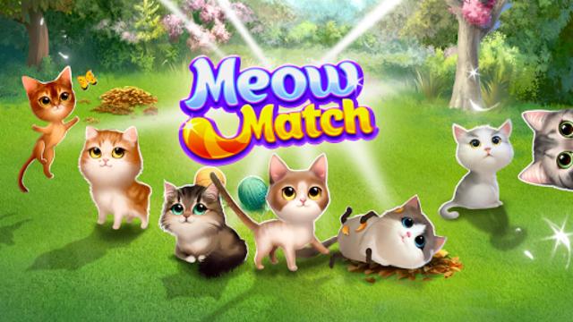 Meow Match: Cats Matching 3 Puzzle & Ball Blast screenshot 13
