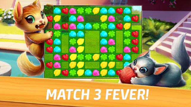 Meow Match: Cats Matching 3 Puzzle & Ball Blast screenshot 14