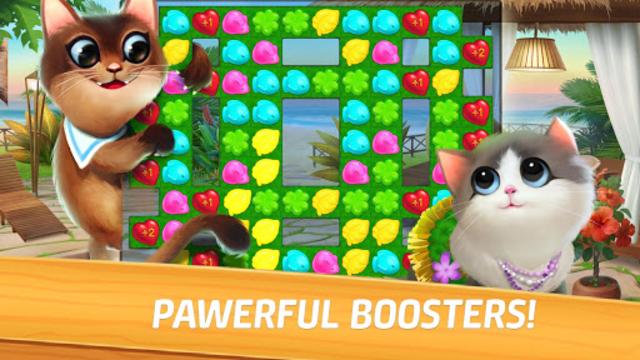 Meow Match: Cats Matching 3 Puzzle & Ball Blast screenshot 15