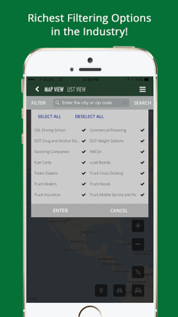 TruckingPRO - Truck Stops, Services & Much More! screenshot 4