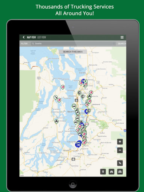 TruckingPRO - Truck Stops, Services & Much More! screenshot 6