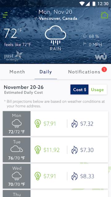 Energy Advisor screenshot 2