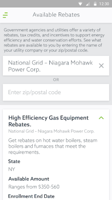 Energy Advisor screenshot 5