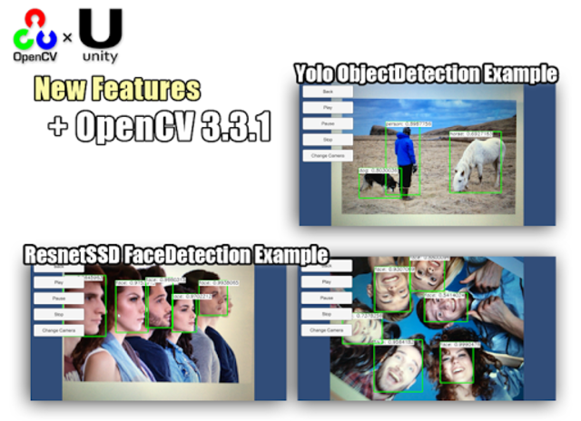 OpenCV for Unity Example screenshot 2