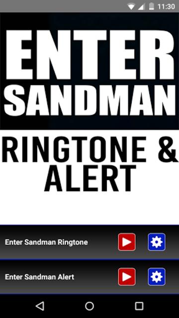 Enter Sandman Ringtone & Alert screenshot 1