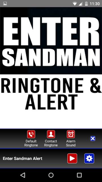 Enter Sandman Ringtone & Alert screenshot 2