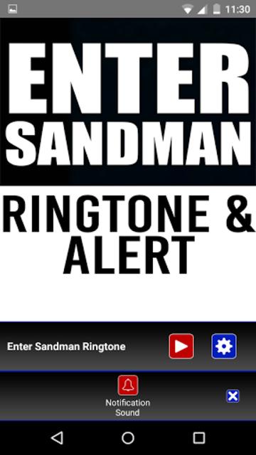 Enter Sandman Ringtone & Alert screenshot 3