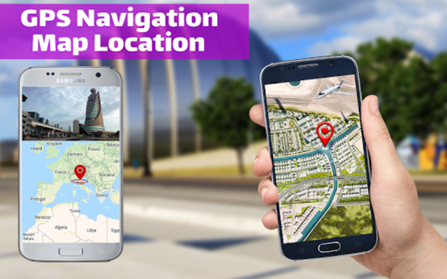 GPS Navigation & Direction - Find Route, Map Guide screenshot 2