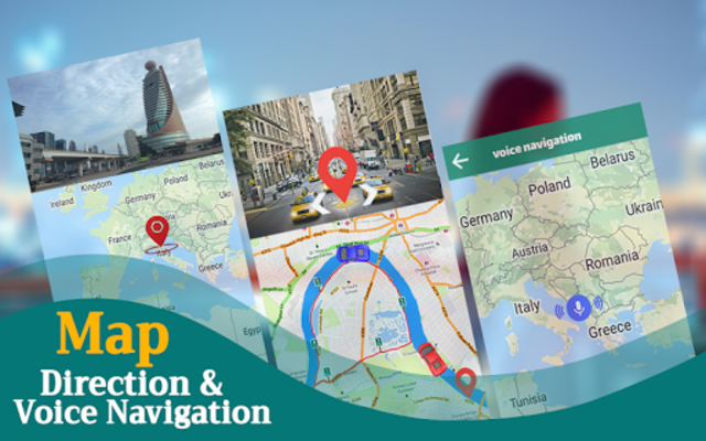 GPS Navigation & Direction - Find Route, Map Guide screenshot 24