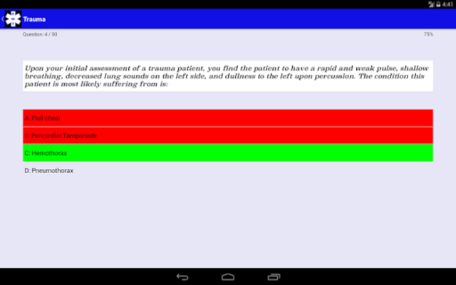 EMT Study - NREMT Test Prep screenshot 7
