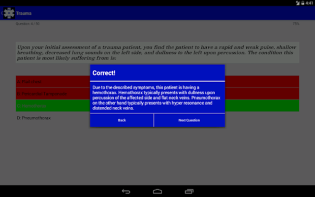 EMT Study - NREMT Test Prep screenshot 8