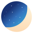Icon for Luna Diary-journal on the moon