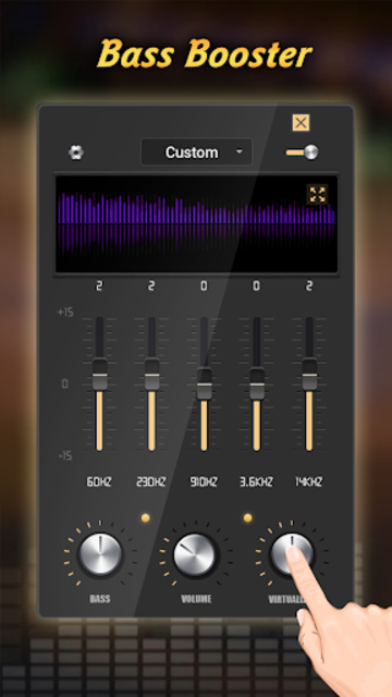 Equalizer Pro - Volume Booster & Bass Booster screenshot 3