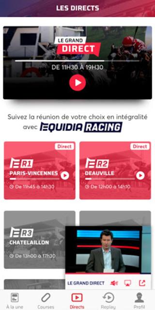 Equidia screenshot 1
