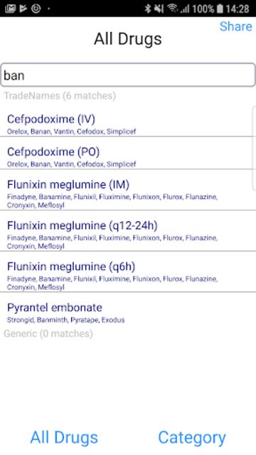 Equine Drugs screenshot 5