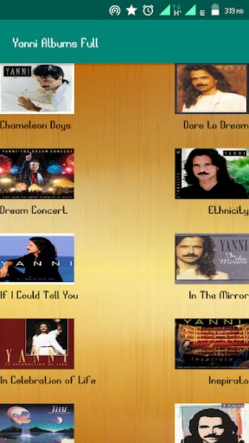 Yanni Album Full screenshot 2
