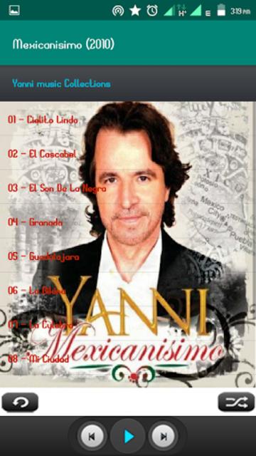 Yanni Album Full screenshot 3