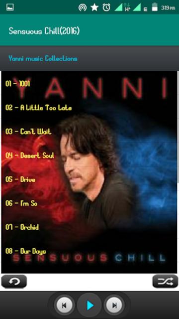 Yanni Album Full screenshot 4