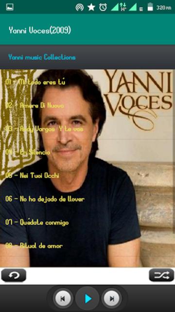 Yanni Album Full screenshot 5
