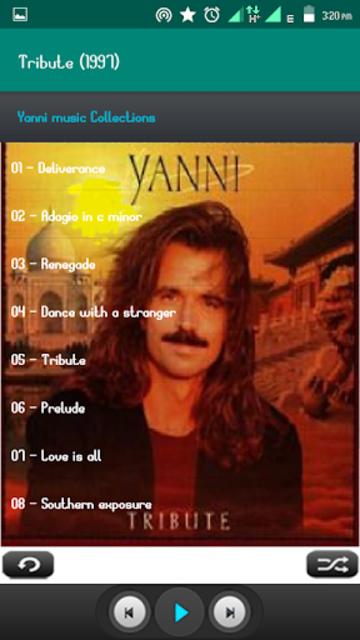 Yanni Album Full screenshot 6