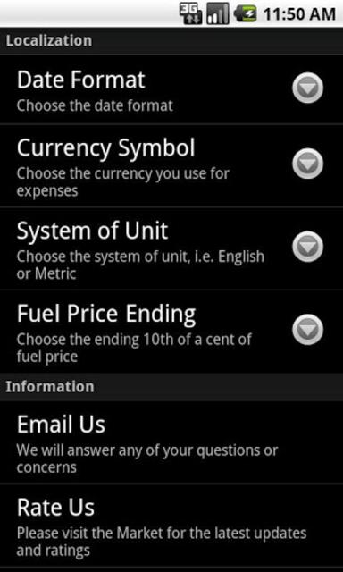 GasLog Unlock Key screenshot 7