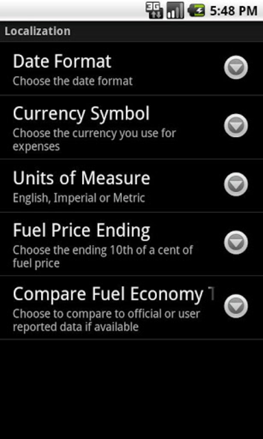 GasLog - Gas Mileage Tracker screenshot 7