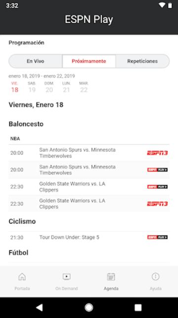 ESPN Play screenshot 4