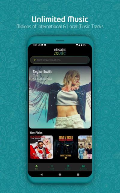 etisalat Music screenshot 3