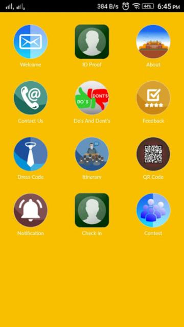 TAB Event App screenshot 3
