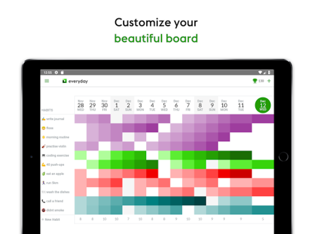 everyday | Habit Tracker & Bullet Journal screenshot 10