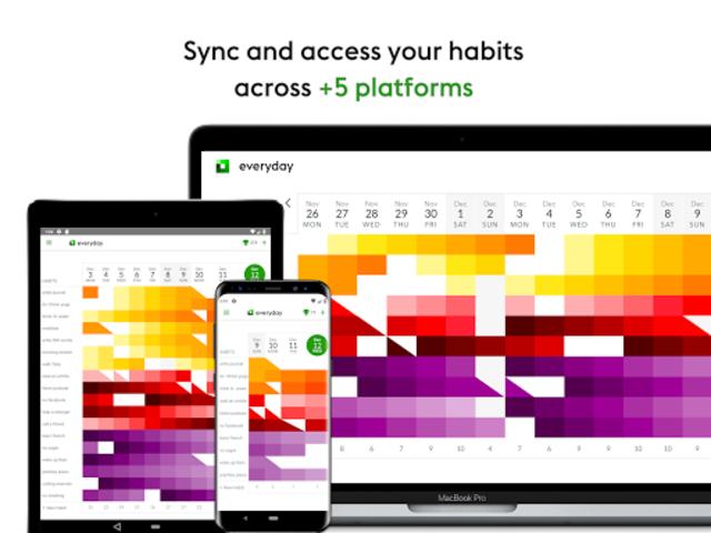 everyday | Habit Tracker & Bullet Journal screenshot 11