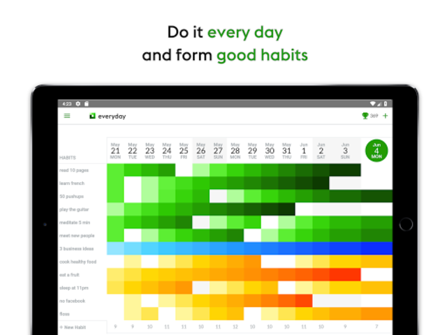 everyday | Habit Tracker & Bullet Journal screenshot 13