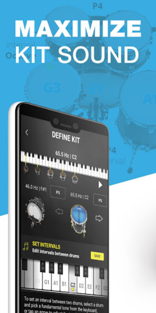 Drum Tuner   Drumtune PRO > Drum tuning made easy! screenshot 8