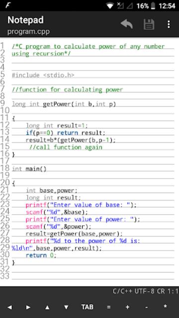 NotePad Pro screenshot 3