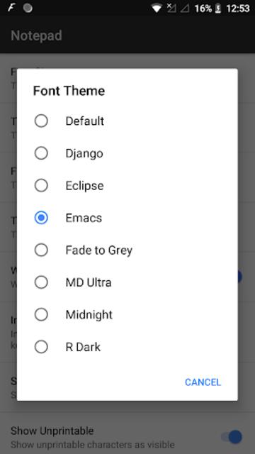 NotePad Pro screenshot 5