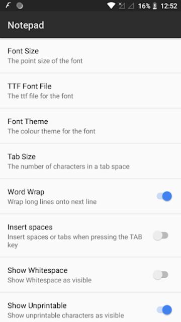 NotePad Pro screenshot 6