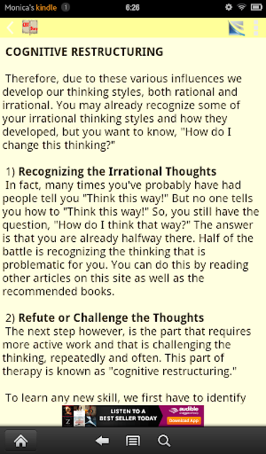 CBT Tools for Healthy Living Self-help Diary screenshot 17