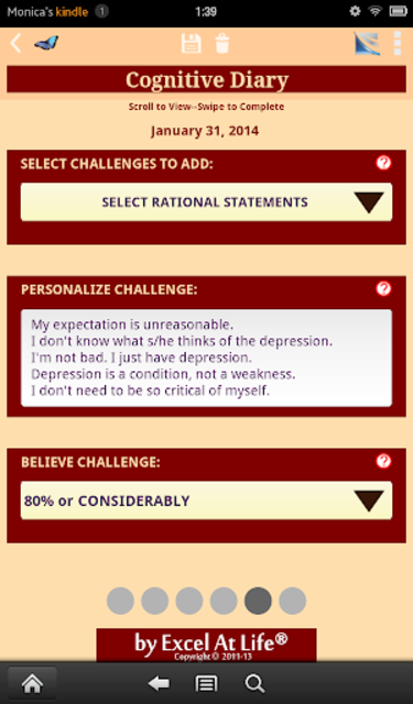 Depression CBT Self-Help Guide screenshot 16