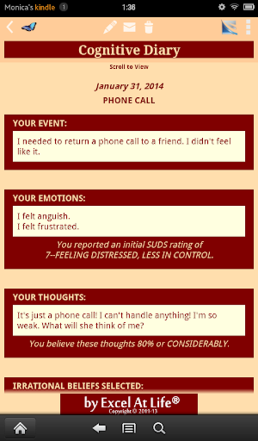 Depression CBT Self-Help Guide screenshot 17