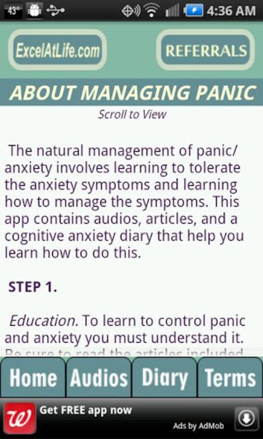 Stop Panic & Anxiety Self-Help screenshot 2
