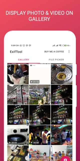 ExifTool - view, edit metadata of photo and video screenshot 4