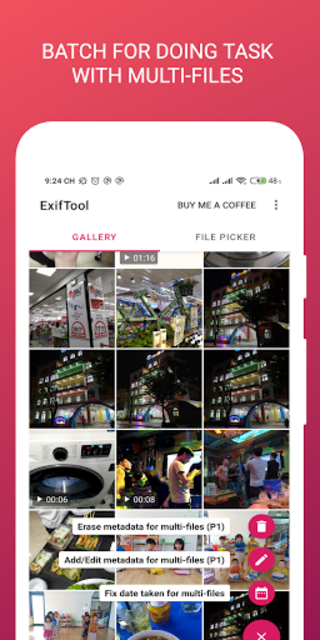 ExifTool - view, edit metadata of photo and video screenshot 7