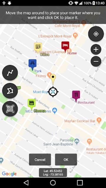 Map Marker screenshot 1